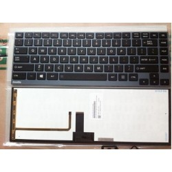 Πληκτρολόγια για  Toshiba Satellite U900 GRAY FRAME BLACK Backlit