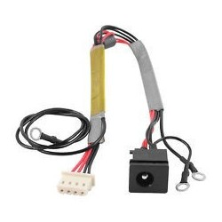 DC Power Jack PJ093 Toshiba Satellite U300 U305 P300 P305D Με καλώδιο