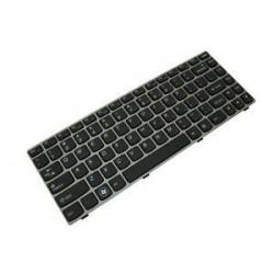 Πληκτρολόγιο Lenovo Z360 SILVER FRAME BLACK US