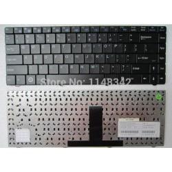 Πληκτρολόγιο CLEVO W84 BLACK (Compatible INTELBRAS I300|ITAUTEC W7425) -